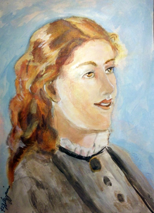 Elisabeth Jerichau-Baumann 1819-1881, Kathie Vezzani