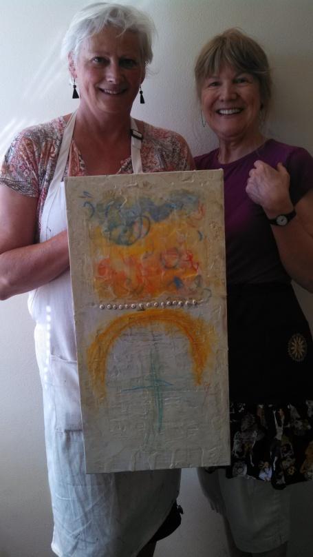 www.kathievezzani.com, Judy Wise, Encausticamp