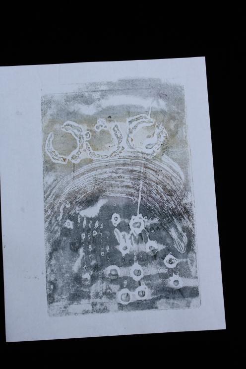 www.kathievezzani.com, encaustic, collograph