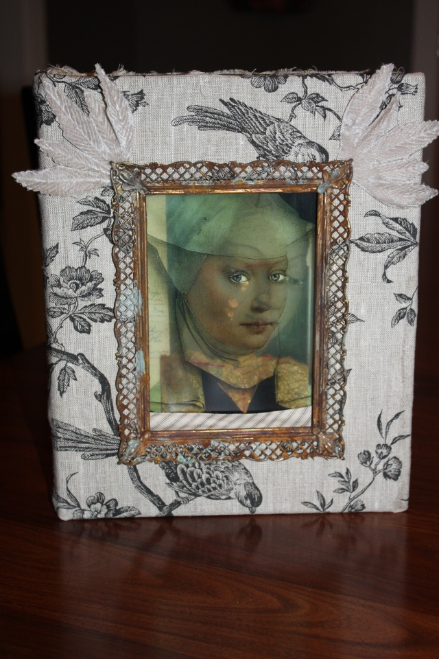 www.kathievezzani.com; book art; assemblage