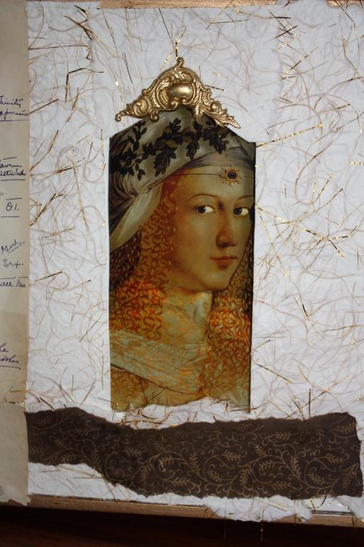 www.kathievezzani.com; book art; assemblatge