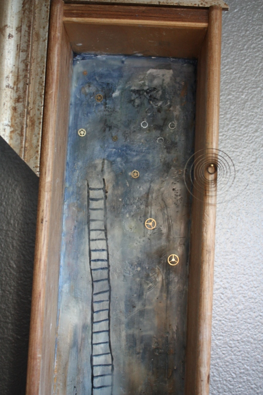 www.kathievezzani.com, plaster, encaustic, assemblage