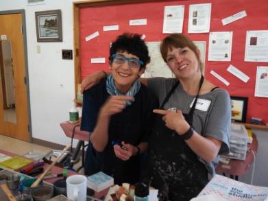 Daniella and Irena